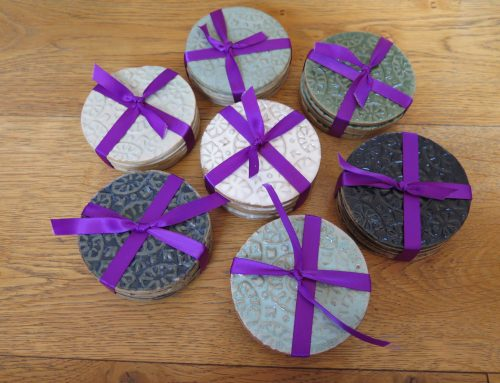 Indian Woodblock coasters
